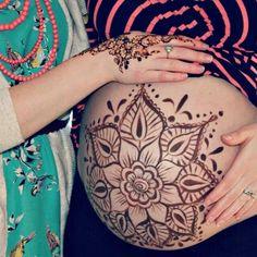 Pregnancy painting