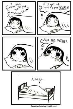 Almost every morning...