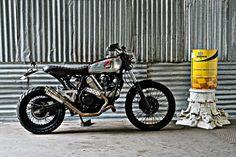 Restyling CAGIVA ELEFANT by Dragoni Moto - RocketGarage - Cafe Racer Magazine