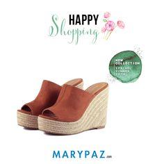 Happy Shopping by MARYPAZ    Compartimos con vosotras nuestros mules New Collection SS/16 que querrás tener en tu armario esta temporada <3 <3   ¡ Disponible ya en tu tienda MARYPAZ más cercana y en marypaz.com !   #happyshopping #comprasfelices #shoesobssession    Compra este MULE DE CUÑA aquí►  http://www.marypaz.com/tienda-online/mule-de-cu-a-y-plataforma-58621.html?sku=74169-35