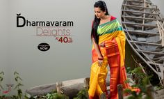 Buy one before it's too late! #Dharmavaramsarees at 40% #discount.