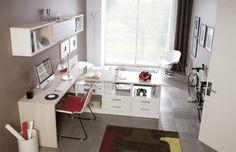 Large Corner Desk With 4 Base Storage Units 4 Drawers And 6