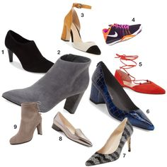 trendy womens work shoes