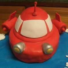 Image detail for -Cakes, cookies, and cupcakes, oh my!: Little Einsteins rocket cake