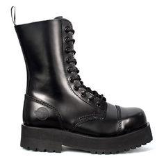 NEVERMIND Double Sole Combat Boots @ SinisterSoles.com