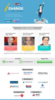 Welcoming all of u 2 attend India's biggest meet for #MutualFunds #Industry. - http://www.thefundoo.com