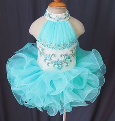 Custom Made Toddler Children Kid's Cupcake Pageant Dress for Wedding Bridal 2016 | eBay
