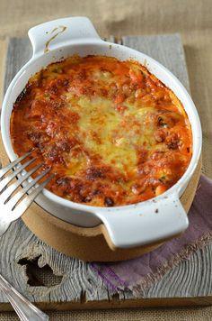 Ricotta-Lasagne, Zucchini und Tomatencoulis Pasta - Pasta salad - Pasta rezepte - Nudelgerichte - So Vegan Dessert Recipes, Vegetarian Recipes, Chorizo, Zucchini, Empanadas Recipe, Cheese Dessert, Moussaka, Evening Meals, Nutritious Meals