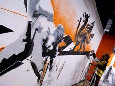 Easy Gym | Cardiff | Birmingham | Graffiti | Mural | Graffiti Artists
