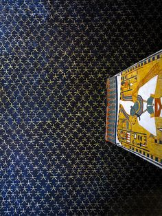 Gorgeous ceiling in Queen Nefertari's tomb in Egypt's 'Valley of the Queens'. It was discovered by Ernesto Schiaparelli (the director of the Egyptian Museum in Turin) in 1904. It is called the Sistine Chapel of Ancient Egypt. This astronomical ceiling represents the heavens and is painted in dark blue, with a myriad of golden five-pointed stars. Nefertari was the favorite Queen of Ramses II.