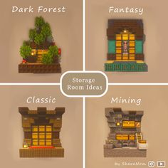 Pocket Edition, Which One Are You, Dark Forest, Pixel Art, This Or That Questions