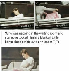 Little leader Suho