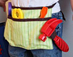 Child's Tool Belt | AllFreeSewing.com