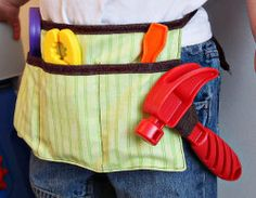 Child's Tool Belt | AllFreeSewing.com