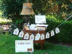 FREE Yard Sale signage, tags and information on how to run a successful yard sale. Yard Sale Signs, For Sale Sign, Sale Signage, Garage Sale Tips, Disney Collection, Rummage Sale, Free Summer, Summer Fun, Homekeeping