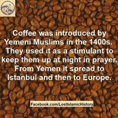 Coffee from yemeni muslims