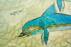 Chalk Of The Town Greece - Ελληνικά Χρώματα Κιμωλίας – Chalk Of The Town® Best Chalk Paint, Pompeii, Fresco, Moose Art, Painting, Animals, Fresh, Animales, Animaux