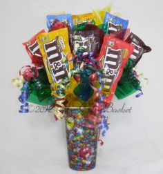 M's Overdose Candy Bouquet