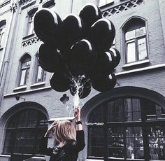 Black Balloons 10 Inch Thick g latex balloons Birthday Ballons Wedding Decorations ballon party globos party supplies Black And White Aesthetic, Black Love, Black Art, Matte Black, Black Aesthetic Wallpaper, Black Wallpaper, Or Noir, Black Balloons, Latex Balloons