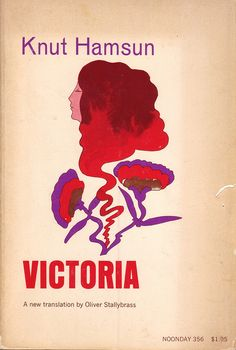 08 Patricia de Groot, cover for Victoria by Knut Hamsun (Noonday, 1969) by 50 Watts, via Flickr