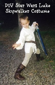 449d7fdb50 This easy to make DIY Luke Skywalker costume won t take much time at all.  For this DIY Luke Skywalker costume you probably have a lot of it in your  house.