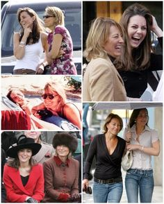 """Happy 62nd birthday to Carole Middleton! 🍾🥂 Some facts about Carole: 1: Carole is the daughter of a trucking company employee-turned-builder dad and a shop clerk mum.  2: Her cousin revealed: """"Carole wasn't a girl for make-up. She was a very natural girl who was happy in jeans and a sloppy jumper, more of a country girl. But she was very pretty."""" 3: Carole's mother was known as 'Lady Dorothy' because of her airs and graces and her ambition to raise her children above the circumstances in…"""