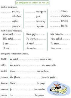 Les verbes en -er (suite) Plus French Expressions, French Language Lessons, French Language Learning, French Lessons, French Flashcards, French Worksheets, French Verbs, French Grammar, French Teaching Resources