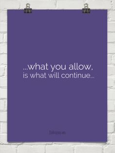 What you allow is what will continue #31743