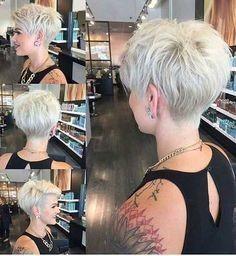 Die 46 Besten Bilder Von Freche Kurze Frisuren Short Haircuts