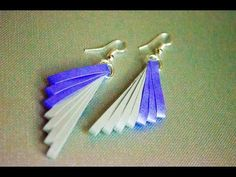 quilling paper earrings latest design quilling paper Earrings Making Tutorial - YouTube