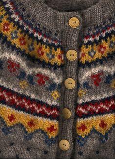 Ravelry: Design 11 pattern by Margrét Valdemarsdóttir Fair Isle Knitting Patterns, Fair Isle Pattern, Knitting Stitches, Knitting Designs, Knit Patterns, Knitting Projects, Baby Knitting, Manta Crochet, Knit Crochet