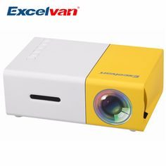excelvan mini portable projector for outdoor activities, traviling or trip. Small Outdoor Projector, small USB projector for Nomads by Lcd Projector, Portable Projector, Projector Price, Usb, Multimedia, Kitchen Storage, Storage Spaces, Dvd Player, Tv Led