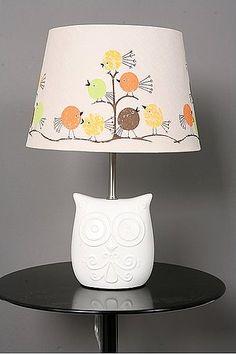 Owl Nursery Lamp ~ TheNurseries