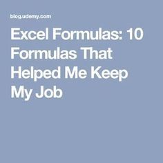 Excel Formulas: 10 Formulas That Helped Me Keep My Job Elektroniken Excel Formulas Helped Job Computer Help, Computer Technology, Computer Programming, Computer Tips, Energy Technology, Microsoft Excel, Microsoft Office, Excel Hacks, New Job