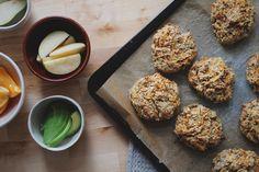 Gulrotscones m. havre & yoghurt — Happy food stories