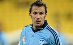 Juventus, Del Piero sfiderà la sua ex squadra nell'amichevole