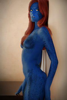 Mystique cosplay. https://@StyleSpaceandStuff.Blogspot.com Heydenrych https://www.heysammysam.co.za
