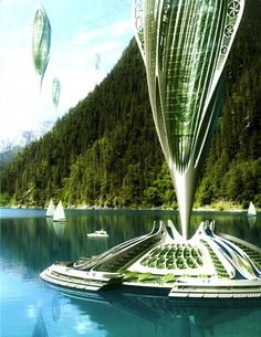 / Vincent Callebaut Arcology - ecological architecture ideas for a sustainable future.Arcology - ecological architecture ideas for a sustainable future. Green Architecture, Futuristic Architecture, Sustainable Architecture, Sustainable Design, Amazing Architecture, Architecture Design, Chinese Architecture, Vincent Callebaut, Architecture Organique