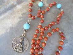 Prayer Beads  Mala  Buddhist Mala  Japa by SacredSymbolStudios, $74.95