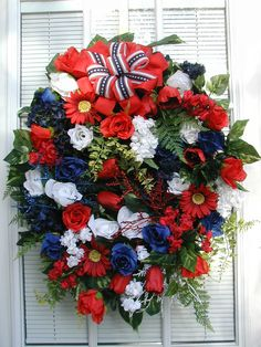 30 Best Patriotic Floral Arrangements Images Flower Arrangements