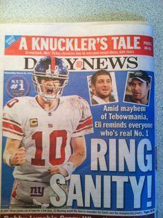 Manning > Tebow & Sanchez