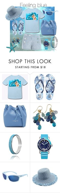 """""""Feeling blue"""" by delaro ❤ liked on Polyvore featuring Max Studio, Billabong, Lancaster, Chopard, Costa and Eric Javits"""
