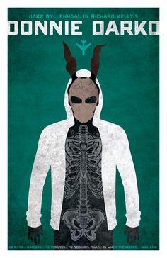 Donnie Darko. Poster by Richard Kelly