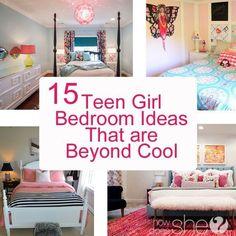 DIY Teenage girl bedroom ideas