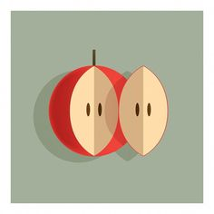 A Couple of Apple. . . . .  Visit portfolio at www.andrebrik.com. . . .#art #artwork #artcollectors #artoftheday #artgallery #artofinstagram #arte #brazil #color #contrast #contemporaryart #decor #design #fineart #graphicart #humour #illustrator #instaartist #instaart #latinart #graphicart #humour #modernart #popart #popsurreal #painting #poster #polishposters #print #stilllife #surrealism #apple