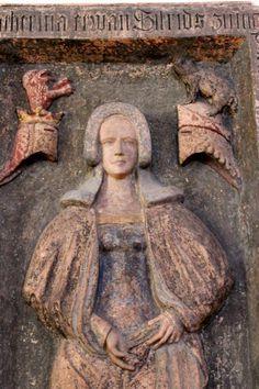 Katharina zum Wedel (†1378), Nicolaikirche Frankfurt
