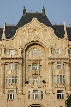 Budapest - Gresham house by jaime.silva, via Flickr
