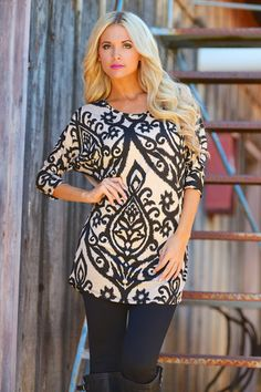 Like a Love Song Tunic - Taupe (S to 1XL)