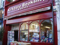 Kirkdale Bookshop and Gallery by RachelH_, via Flickr