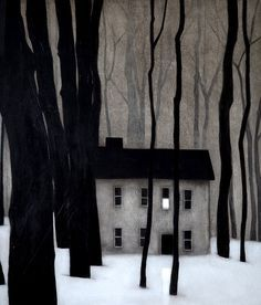 New winter landscape illustration beautiful Ideas Landscape Art, Landscape Paintings, House Paintings, Landscapes, Art Et Illustration, Landscape Illustration, Illustrations, Winter Art, Fine Art